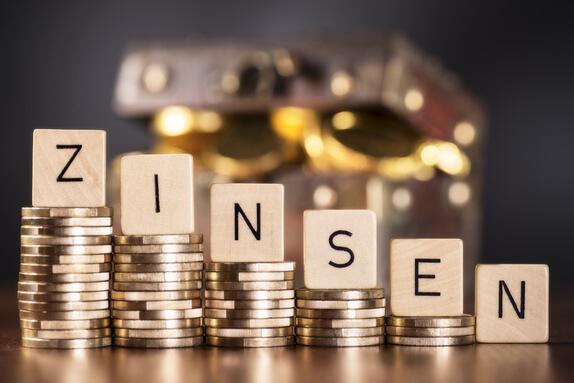 Entwicklung der Zinsen während einer Baufinanzierung