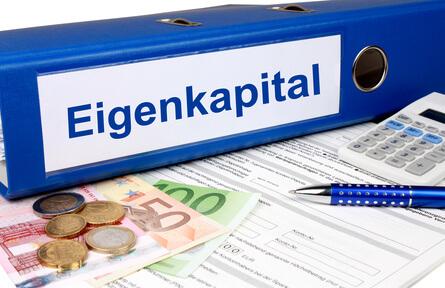 Eine Finanzierung mit Eigenkapital ist die bessere Lösung